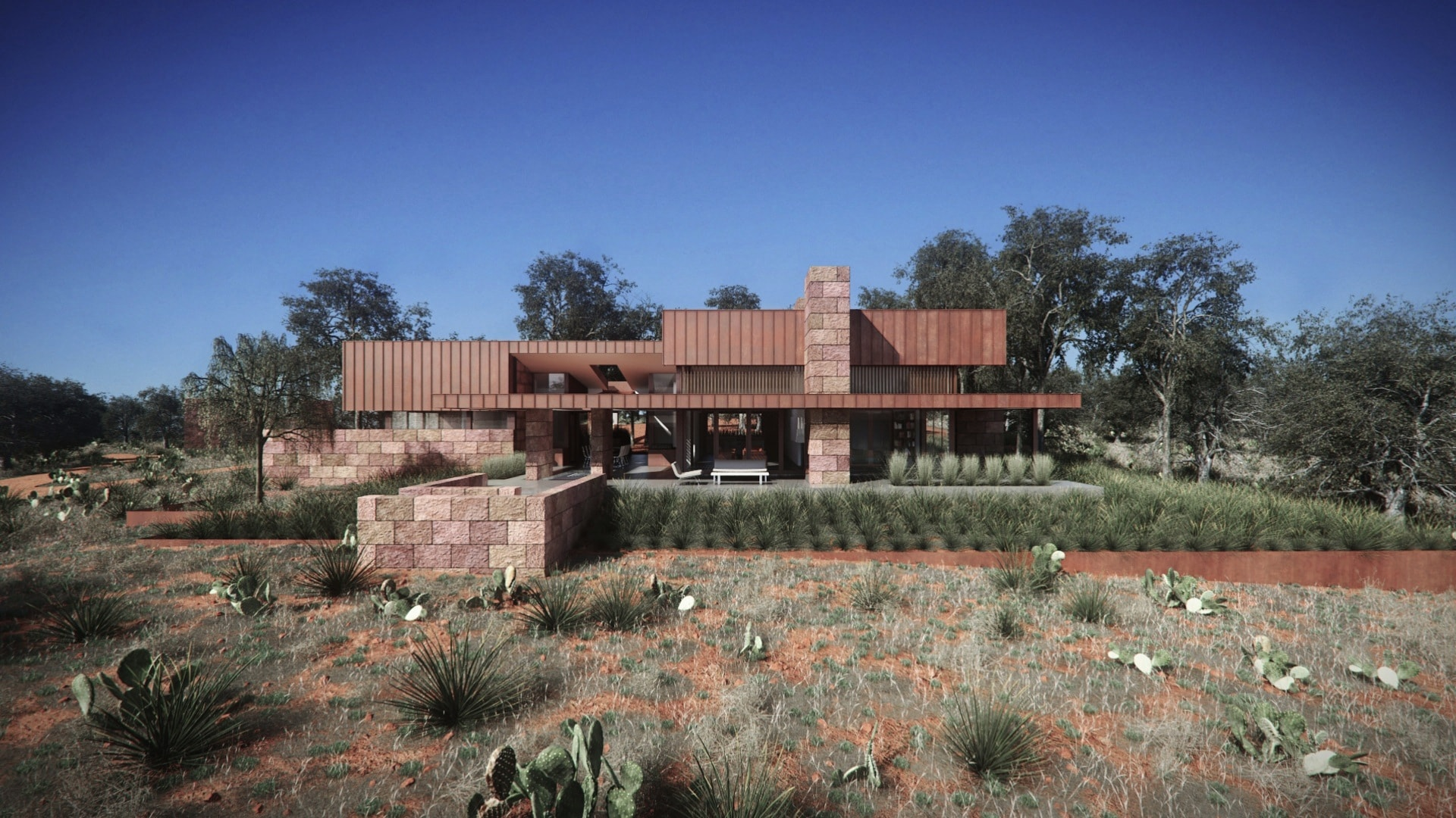 A Modern Take on a Hunting Lodge - Architects in Texas
