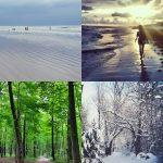 Beach + Hiking + Snow!