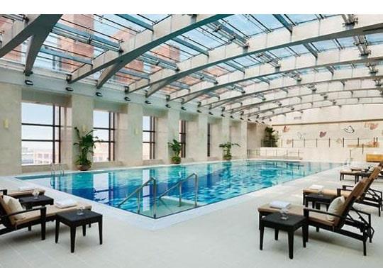 Indoor Pool - Studio Architects in Austin, Texas