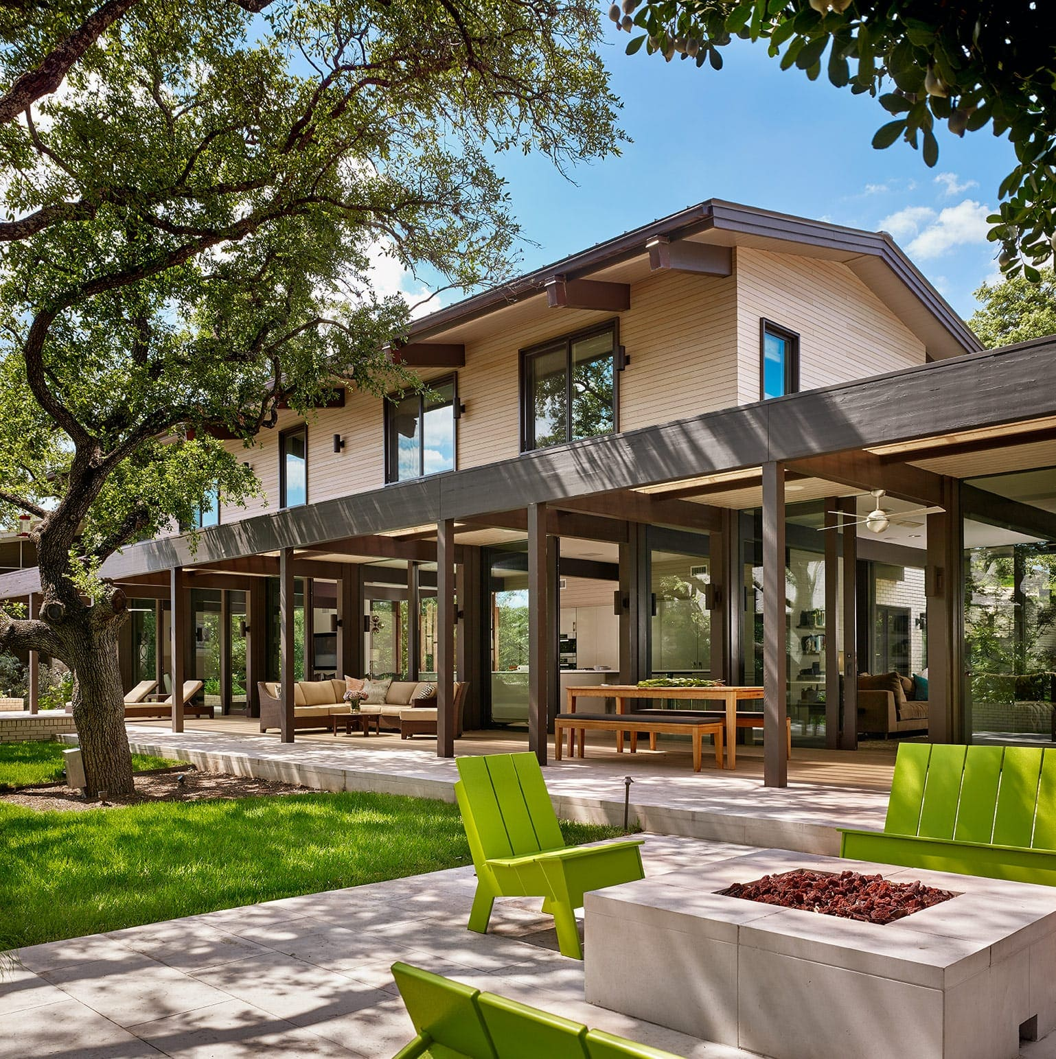 Mount Bonnell Drive Residence - How much does it cost to hire an architect in Austin