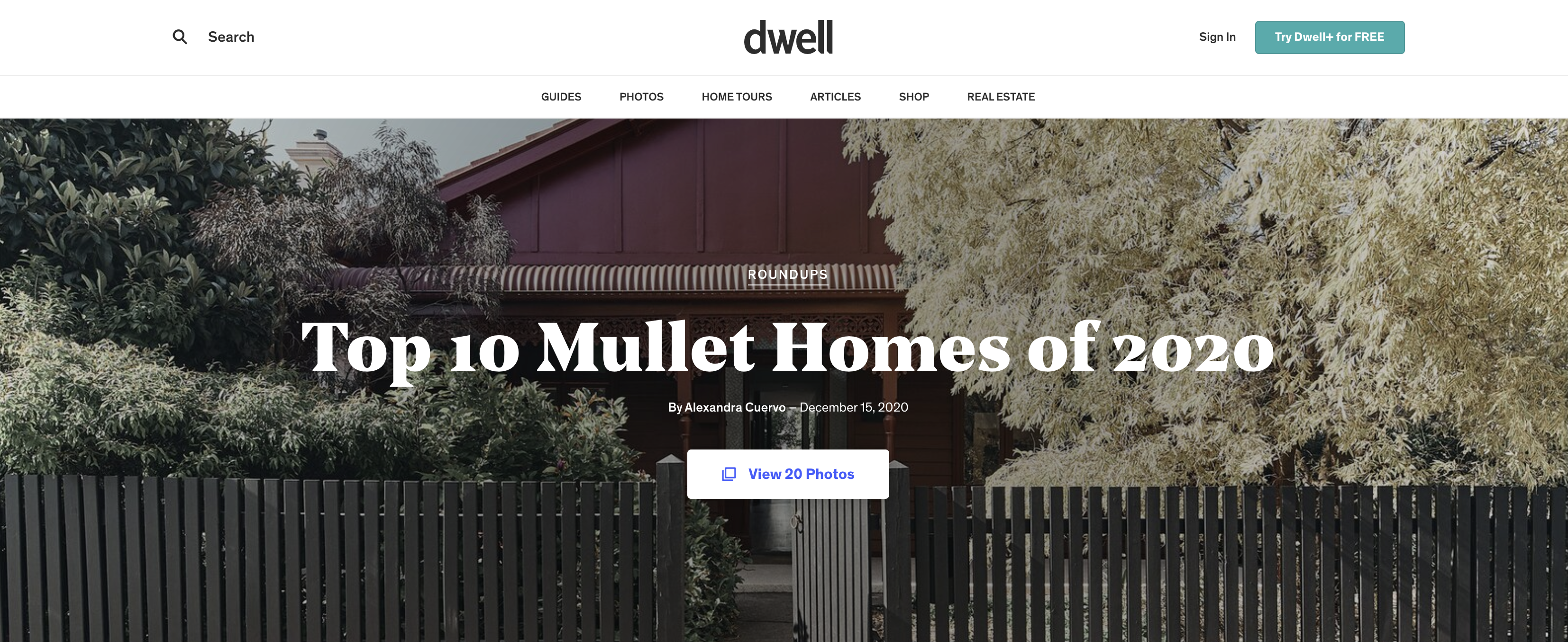 Top 10 Mullet Homes of 2020