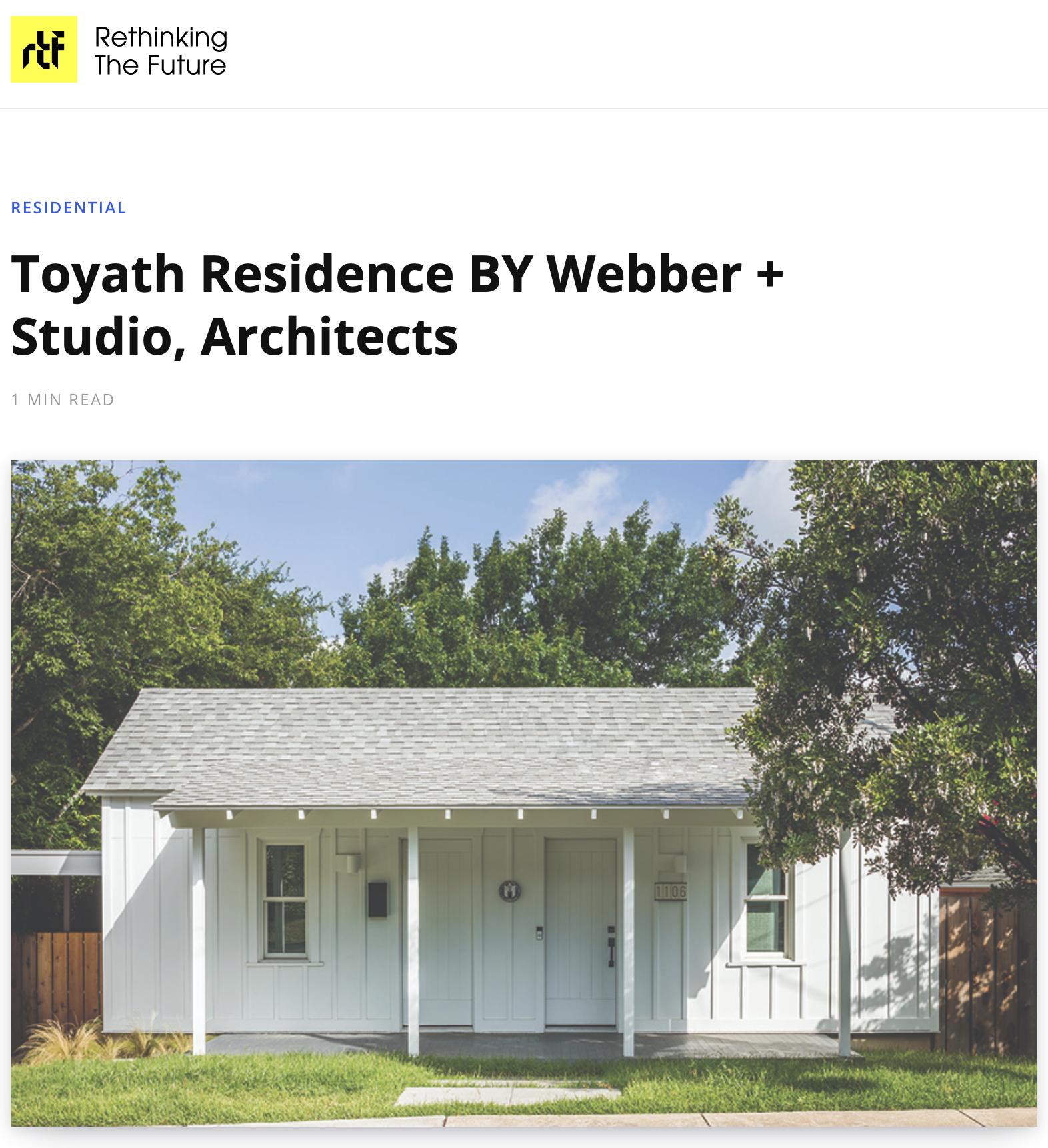 Toyath Residence by Webber + Studios